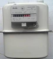 Бытовой газовый счётчик Gallus 2000-U, механический, изготовлен по французской лицензии, расход 0,04…6 м3/час