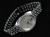 Стильные женские Versace - цвет серебро