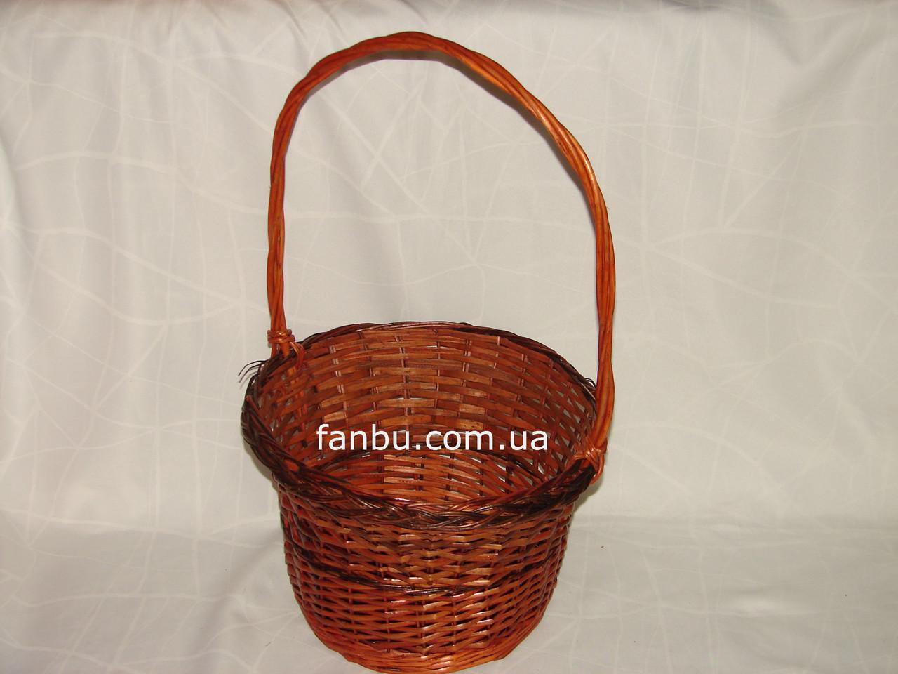 Корзина для букета плетеная