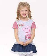 Детское платье в садик Свинка Пеппа