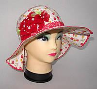 Нежная детская шляпка 54 размера