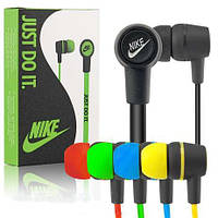 Супер цена! Nike NK-18, наушники-вкладыши вакуумные для настоящих меломанов, со штекером 3,5 мм