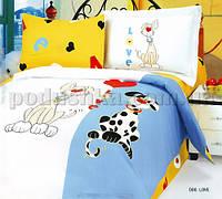 Постельное белье в кроватку Le Vele Dog love Детский комплект
