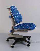 Кресло Y-818 F обивка синяя с мячиками Mealux