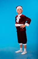 Костюм Гнома бордовый из мультфильма Белоснежка и 7 гномов Украина карнавальная KD04