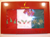 Набор кухонных полотенец Le Vele №4 30х50 см - 3 шт