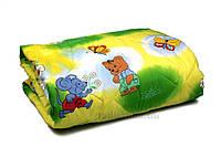 Одеяло детское летнее хлопковое Home Line в бязи 100х140 см