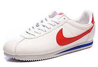 Кроссовки белые кожаные Nike Cortez Оригинальные