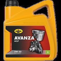 Синтетическое моторное масло Kroon-Oil Avanza MSP 5W-30 (Peugeot & Citroёn) ✔ емкость 5л.