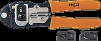 Клещи для обжима телефонных наконечников 4P, 6P, 8P 01-501 Neo