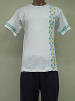 Мужская вышиванка - футболка Орнамент Украина