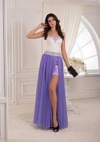 Современное и летнее вечерние платье для стильной девушки