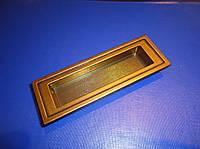 Врезная ручка на дверь бронза D-105/96 G4