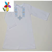 Рубашка крестильная для мальчика. Размер 68 - 74