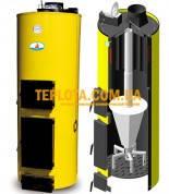 Твердотопливный котел длительного горения БУРАН-12 У (мощность 12 кВт)