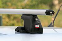 Автобагажник на дах Amos C-15 Aero Plus / Багажник на крышу Амос С-15 Аэро Плюс с улучшенной обтекаемостью