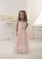 Очень нежное детское платье с легким кружевом