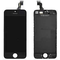 Дисплей + сенсор STD для iPhone 5s черный