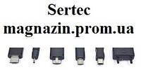 Автомобильное зарядное устройствго Micro USB Нокиа 8600 с выдвижныой шнур. SerteC.