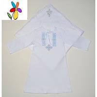 Комплект крестильный для малчика Крыжма и Рубашка. Размер 68 - 74