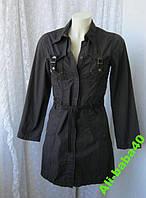 Платье женское молодежное хлопок мини бренд One by One р.40-42