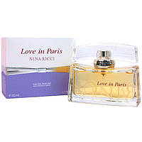 Женская оригинальная парфюмированная вода Nina Ricci Love in Paris, 50ml NNR ORGAP /2-04