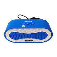 Портативная bluetooth колонка MP3 NK-BT82 Blue миниколонка