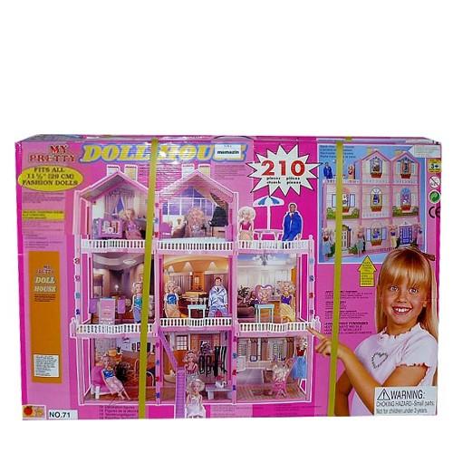 Кукольный домик для барби my pretty doll hause