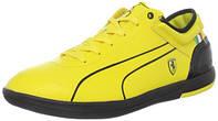 Кроссовки фирменные Puma Ferrari, прогулочные/спортивные, лёгкие, шнуруются, с плоской подошвой, 41,5 размер