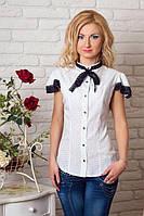 Женская рубашка офисного  стиля модного кроя