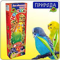 """Корм для попугаев """"Природа """"Колосок фруктовый 140 г для волнистых попугаев"""