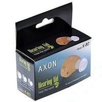 ТОП ВЫБОР! Внутриушной слуховой аппарат Axon K-80 - 1000556 - аппарат слуховой, Axon K 80, аксон, усилитель слуха, внутриушной слуховой аппарат
