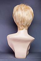 Искусственные короткие парики №20.Цвет мелирование пшеничный с белым