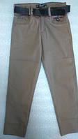 Детские штаны для мальчика. Школьные брюки телесные. Размеры 122-146