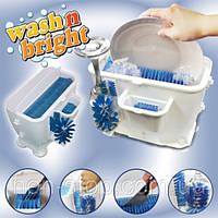 ТОП ВЫБОР! Посудомоечная машина Wash n Bright - недорогая маленькая посудомоечная машина, минимойка для мытья посуды, Посудомойка Wash N Bright,