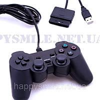 Джойстик для PC и PS2 DualShock USB+PS2, 706 U+P, фото 1
