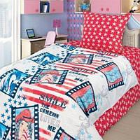 4YOU Комплект постельного белья Ковбойка полуторный детский 272888