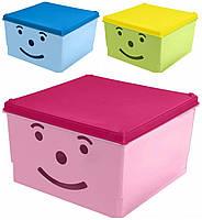 Ящик для детских игрушек Tega Smile BQ-007