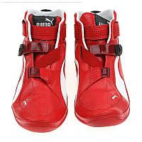 Пара оригинальных фирменных кроссовок Furio MID SF, натуральный кожаный верх, на липучках, размеры