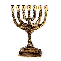 Еврейский подсвечник для хануки на 7 свечей минора S2141