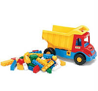 Самосвал-грузовик с конструктором Wader 32330