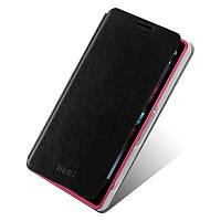 Кожаный чехол книжка Mofi для Sony Xperia Z1 Compact D5503 чёрный