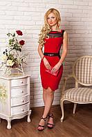 Деловое женское платье 856