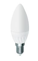 Светодиодная лампа-свеча с цоколем E14 7W Electrum LC-12