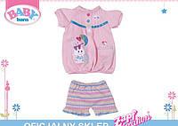 Одежда для куклы 32 см Платье и шортики My Little Baby Born Zapf Creation