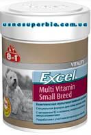 8 в 1 Мультивитаминная добавка для мелких собак Excel Multi Vitamin Small Breed (150 мл / 70 таб.) (109372)