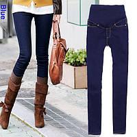 Женские джинсовые штаны лосины для беременных!