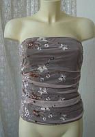 Топ женский корсет вечерний нарядный бренд Vila р.42-44