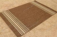 Безворсовый ковер-рогожка Balta Natura спектр коричневый