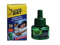 """Жидкость для фумигатора """"Super Bat"""" БИО без запаха 45 ночей"""